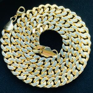 Other - Cuban Gold Tennis Chain 24 Inches